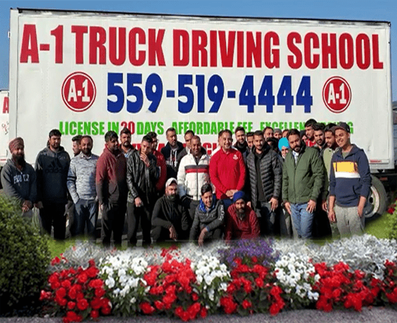 A1 Truck School Students Image