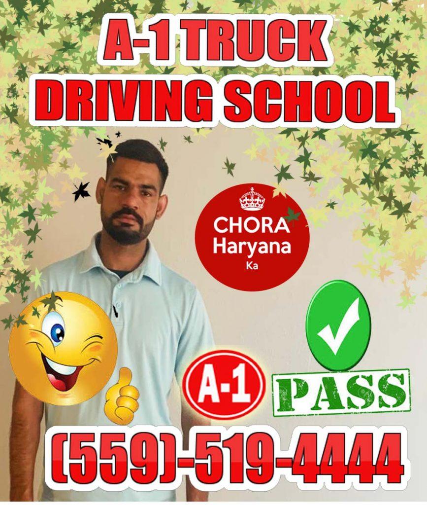 A1 Truck School Happy SIngh