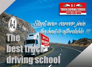 The Best Truck Driving School Photo