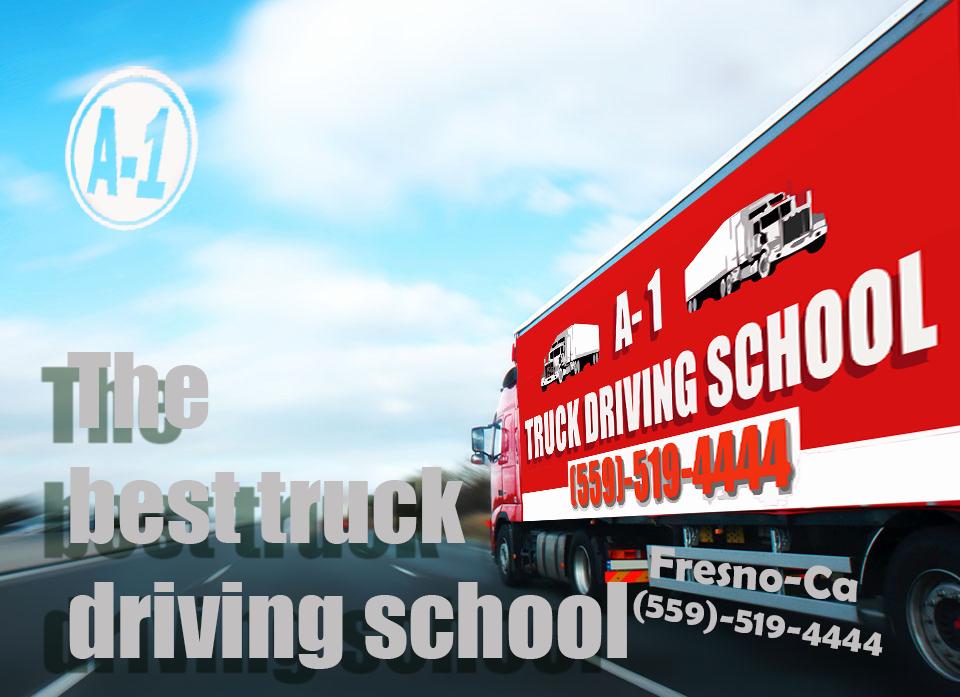 A1 Truck Driving School Banner